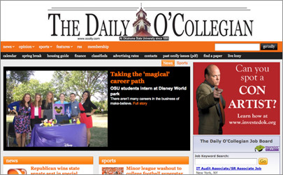 The Daily O'Collegian