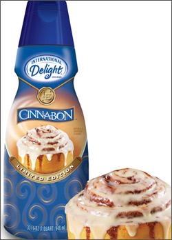 Cinnabon creamer
