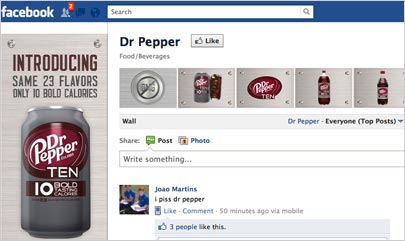 Facebook-DrPepper