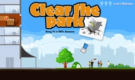 Clear-the-Park-game