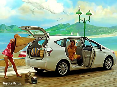 Toyota Prius V Ad Effort Is For Real 11/02/2011