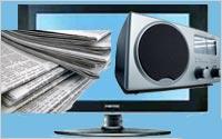 Collage-TV-Radio-Newspapers