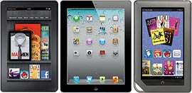 Ipad-KindleFire-Nook