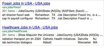 Schema org Markup Standard Pulls Job Listings Into Search