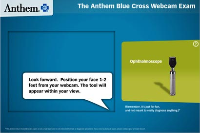 Anthem Blue Cross Uses Consumers In Live Streaming Video Ads 01/24/2012