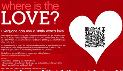 Love QR Style: GGP Malls Offers Valentine's Day Code Hunt 02