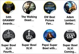 Superbowl-Stickers