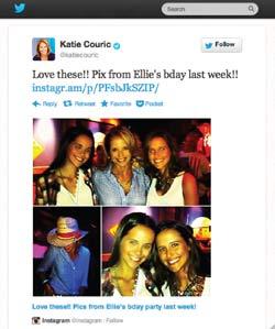 Katie Couric's Twitter