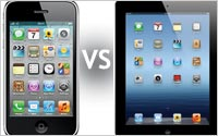 Iphone-VS-Ipad