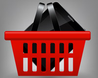 Tablet-Shopping-basket