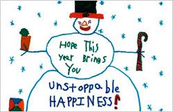 Snowman-message-B