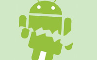 Android-robot-logo-fractured-A