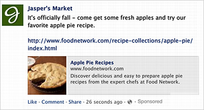 Facebook Tests FBX Ads In News Feed 03/27/2013