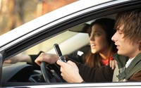 Driving-Texting-A