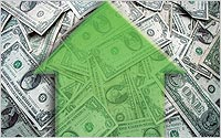 Arrow-over-money-A