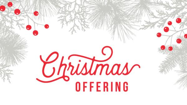 Christmas Offering Slide