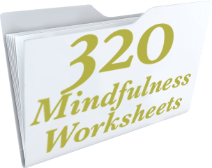 Premium Mindfulness Worksheets: