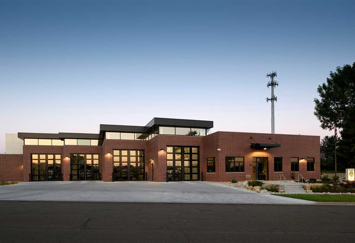 Fitchburg Fire Station Exterior