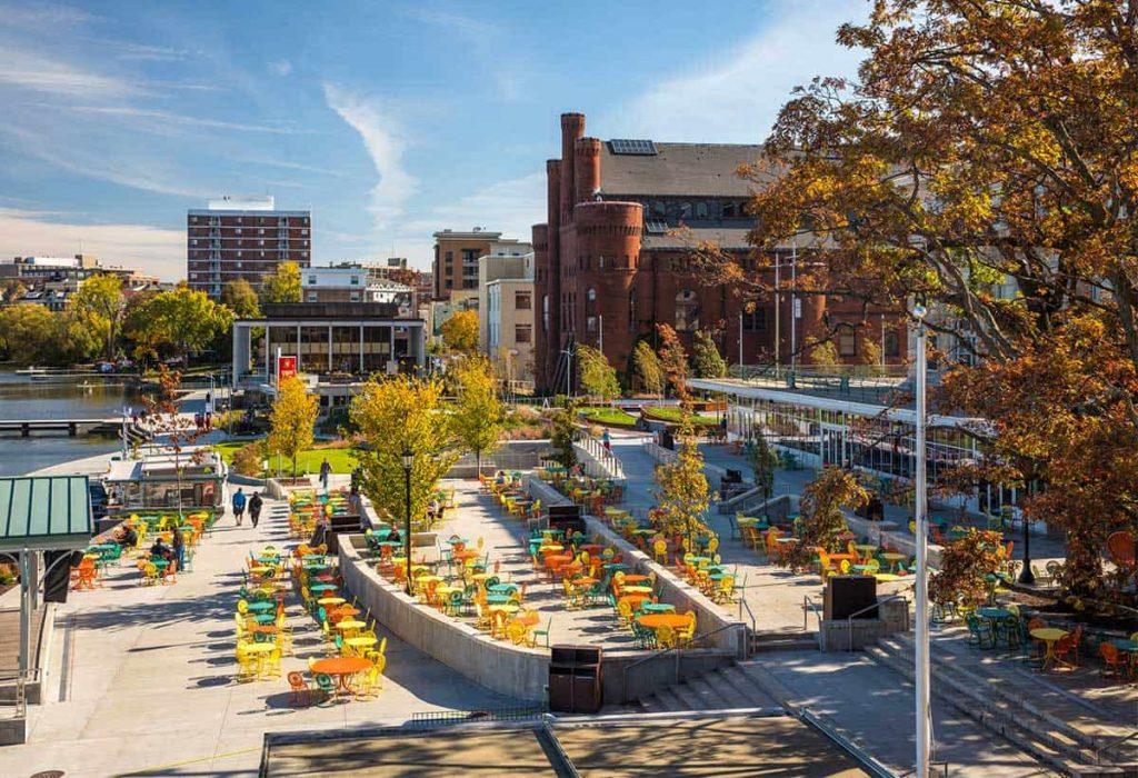 UW-Madison Memorial Union & Alumni Park
