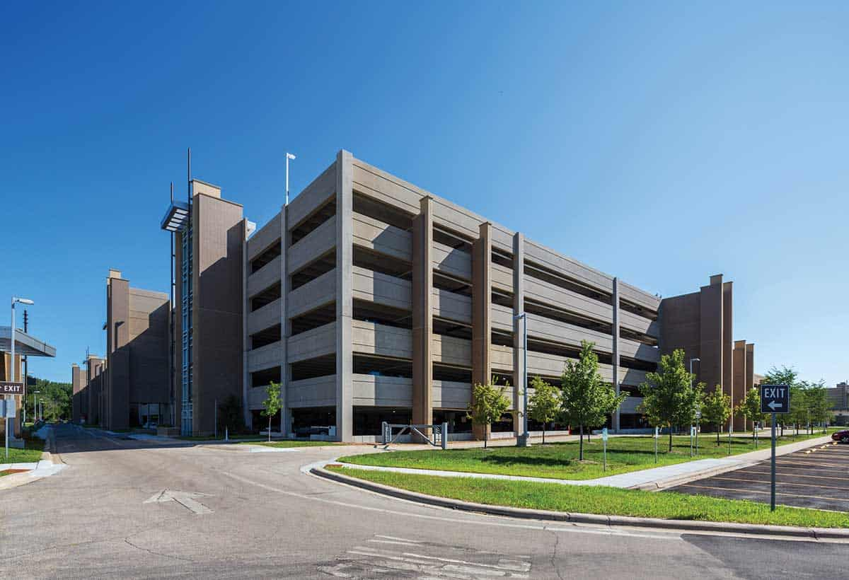 Dane County Airport Parking Structure-1
