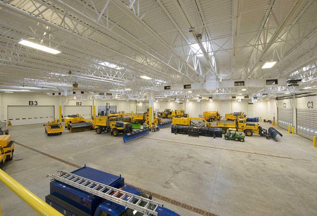 Dane County Snow Removal Facility Garage