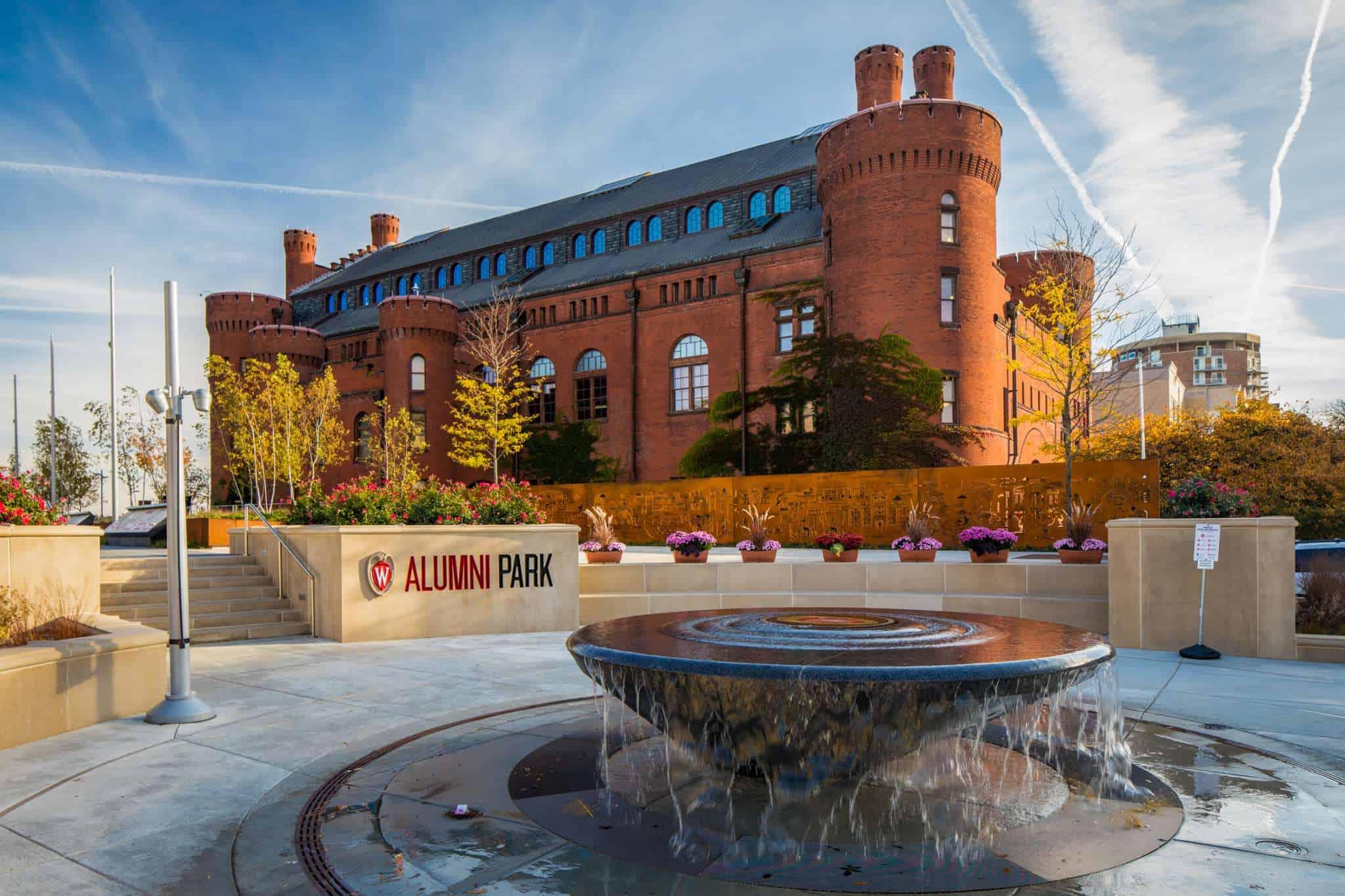 UW Madison Alumni Park