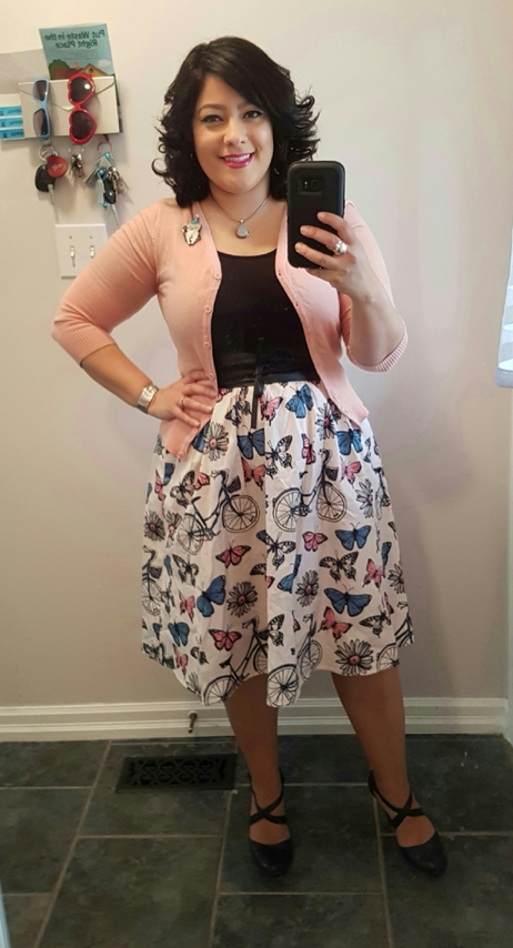Flit and Flirt A-Line Skirt | ModCloth