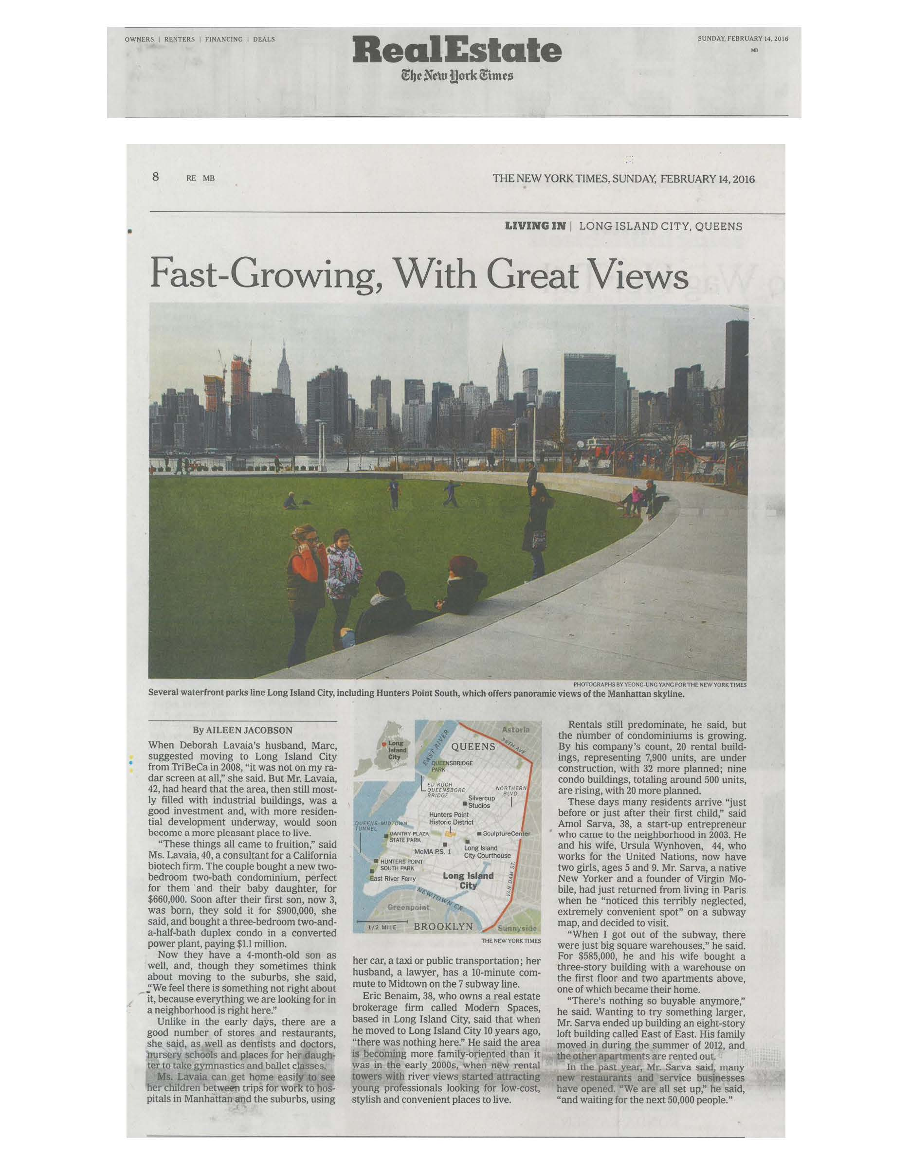 The New York Times - Fast-Growing, With Great Views - 02.14.16_Page_1