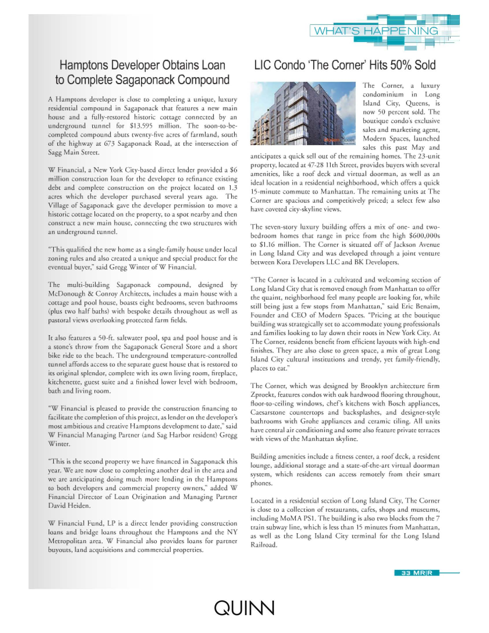 Mann Report - LIC Condo 'The Corner' Hits 50% Sold - 2.1.16_Page_2