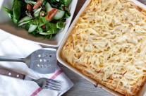 Pasta Bechamel bake (Pastitsio)