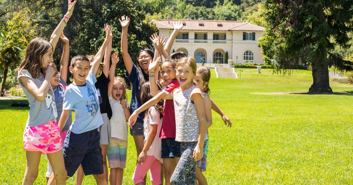 Supporting Montalvo helps kids experience our summer camps!