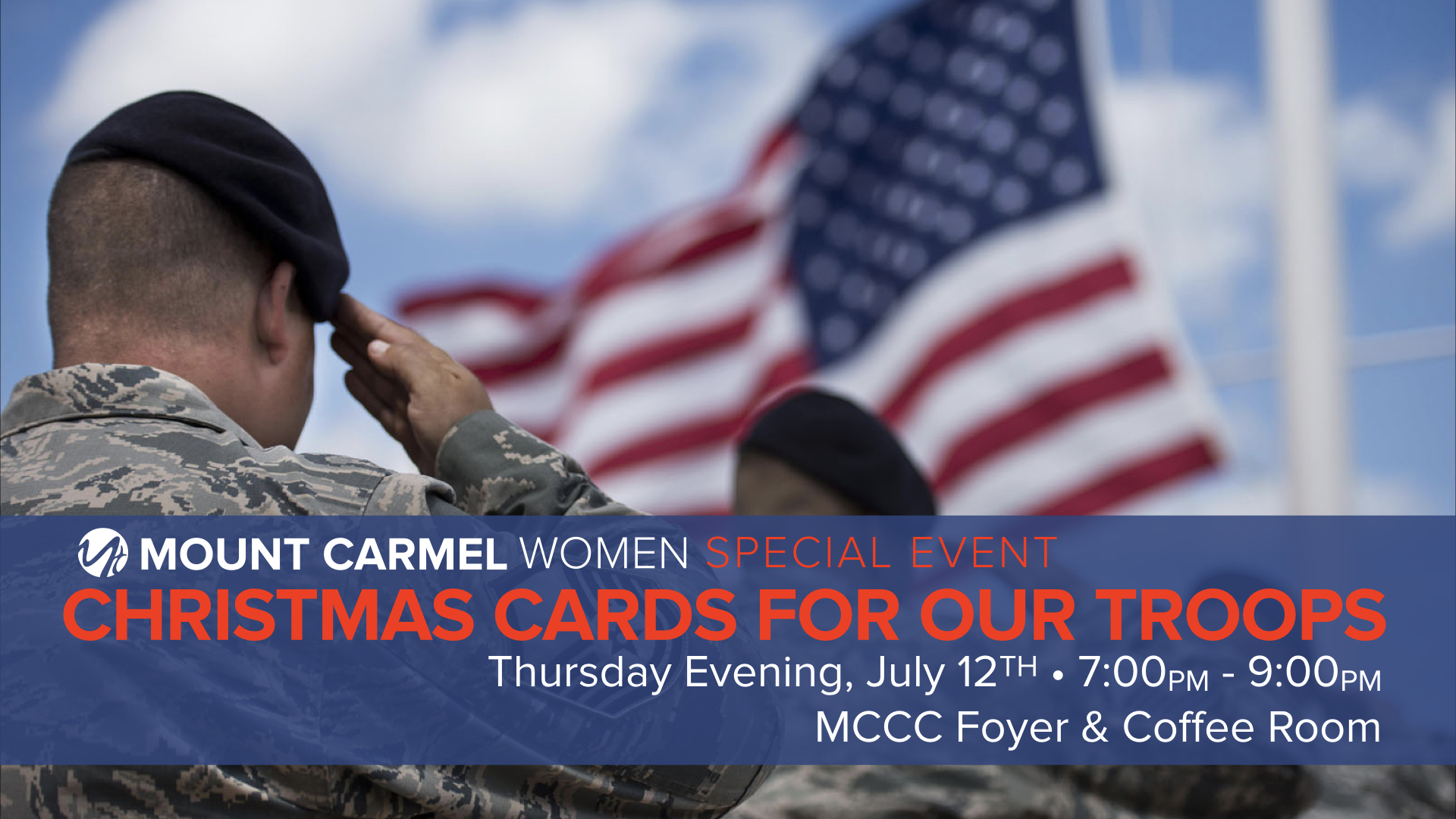 Christmas Cards for Our Troops | Mount Carmel Christian Church