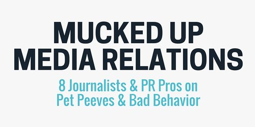 PR pros vs. journalists: pet peeve showdown