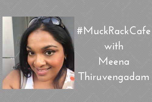 #MuckRackCafe with Meena Thiruvengadam
