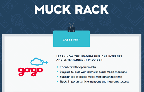 How Gogo uses Muck Rack to achieve their PR goals