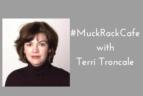 #MuckRackCafe with Terri Troncale