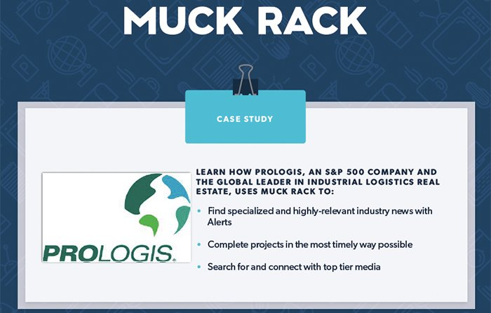 How Prologis uses Muck Rack to achieve their goals