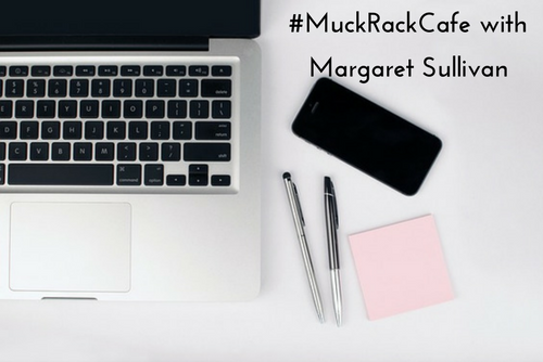#MuckRackCafe with Margaret Sullivan