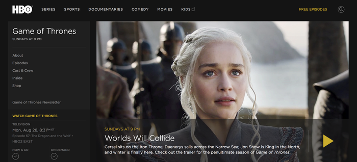 Who loves Game of Thrones? (Well, everyone, but especially journalists)