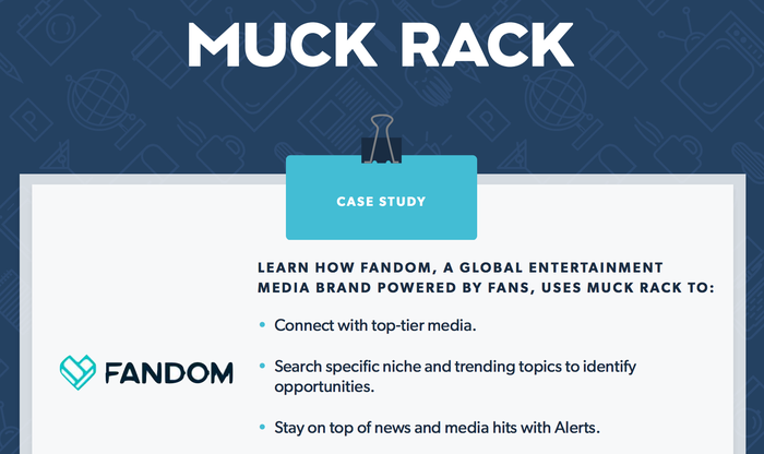 How FANDOM uses Muck Rack to achieve their PR goals
