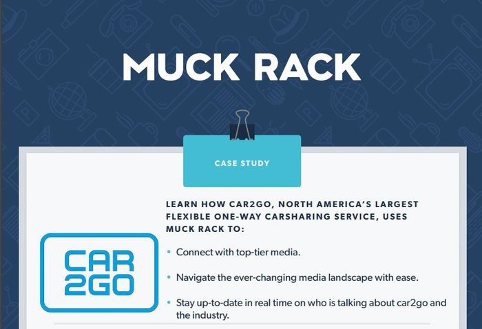 How car2go uses Muck Rack to achieve their PR goals