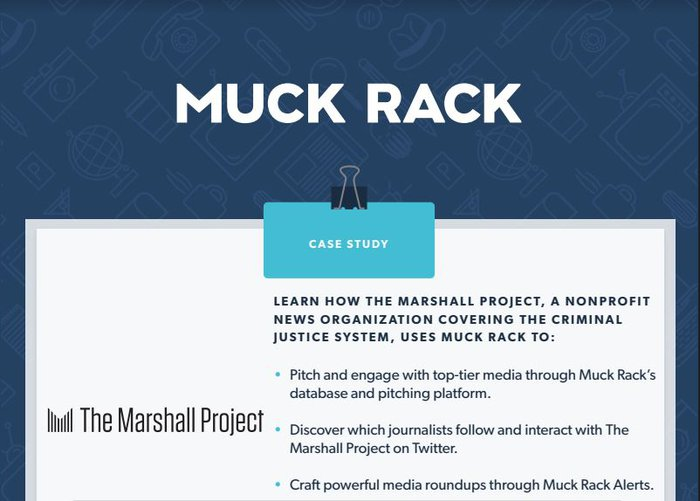 How The Marshall Project uses Muck Rack to achieve their PR goals