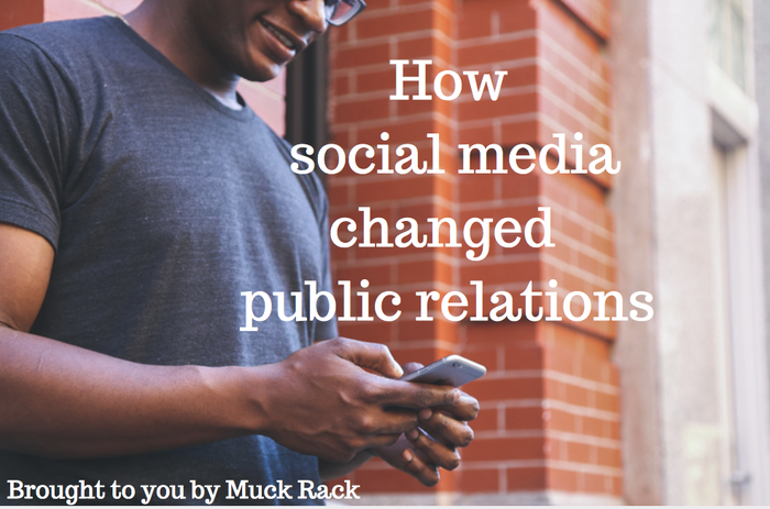 How social media changed public relations