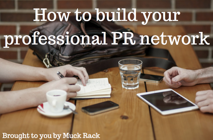 How to build your professional PR network in 6 easy steps