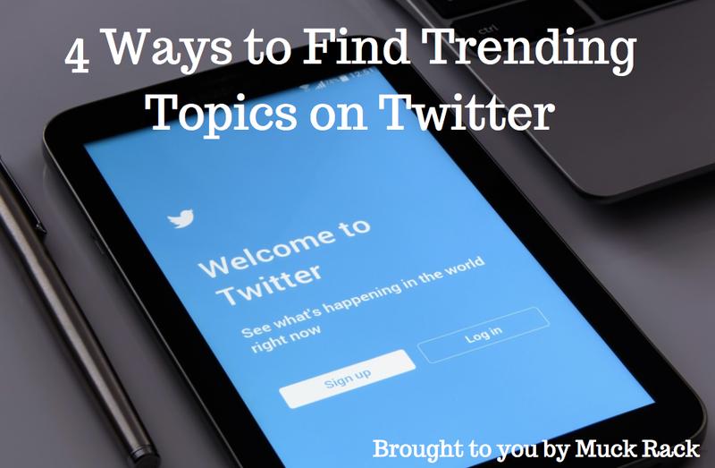 4 ways to find trending topics on Twitter