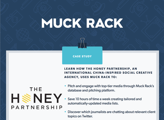How The Honey Partnership uses Muck Rack to achieve their PR goals