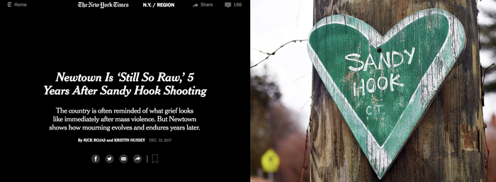 Sandy Hook 5th anniversary: New York Times profiles a town seeking privacy