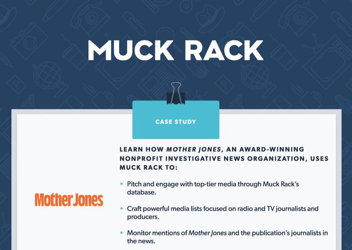 How Mother Jones uses Muck Rack to achieve their PR goals