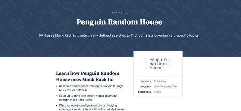 How Penguin Random House uses Muck Rack to achieve their PR goals