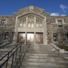 At Fordham, Gym Has History if Not Allure